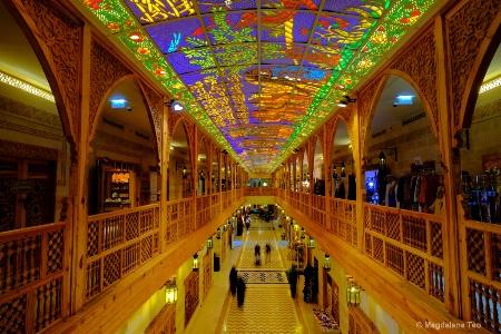 Beautiful Wafi Mall in Dubai