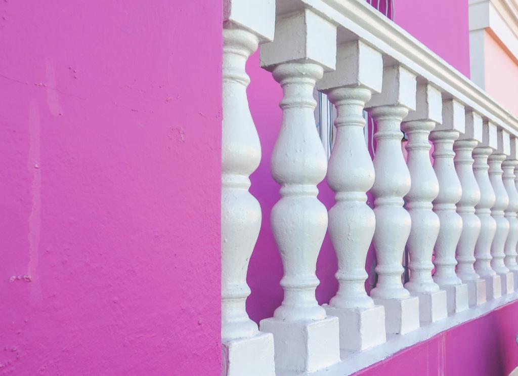 Purple and Pillars, Capetown - ID: 15366954 © Nancy Auestad
