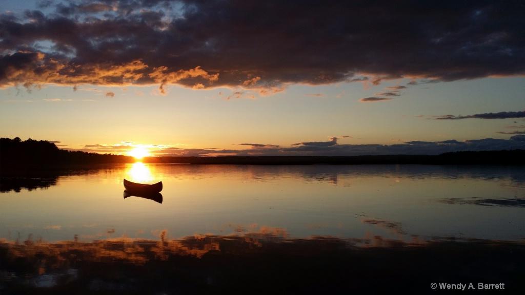 Floating Sun - ID: 15367164 © Wendy A. Barrett