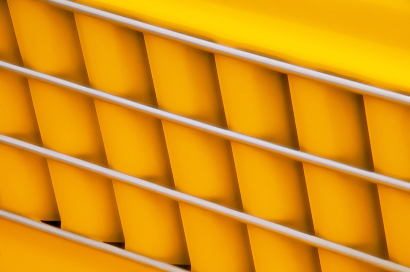 Auto as Art - Yellow Vehicle Graphic