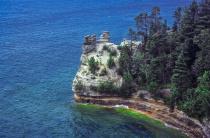 Miners Castle on Lake Superior