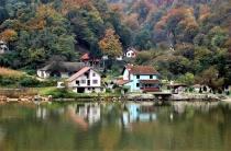 Serbian river front housing