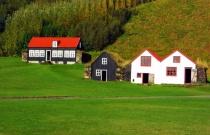 Countryside farm.