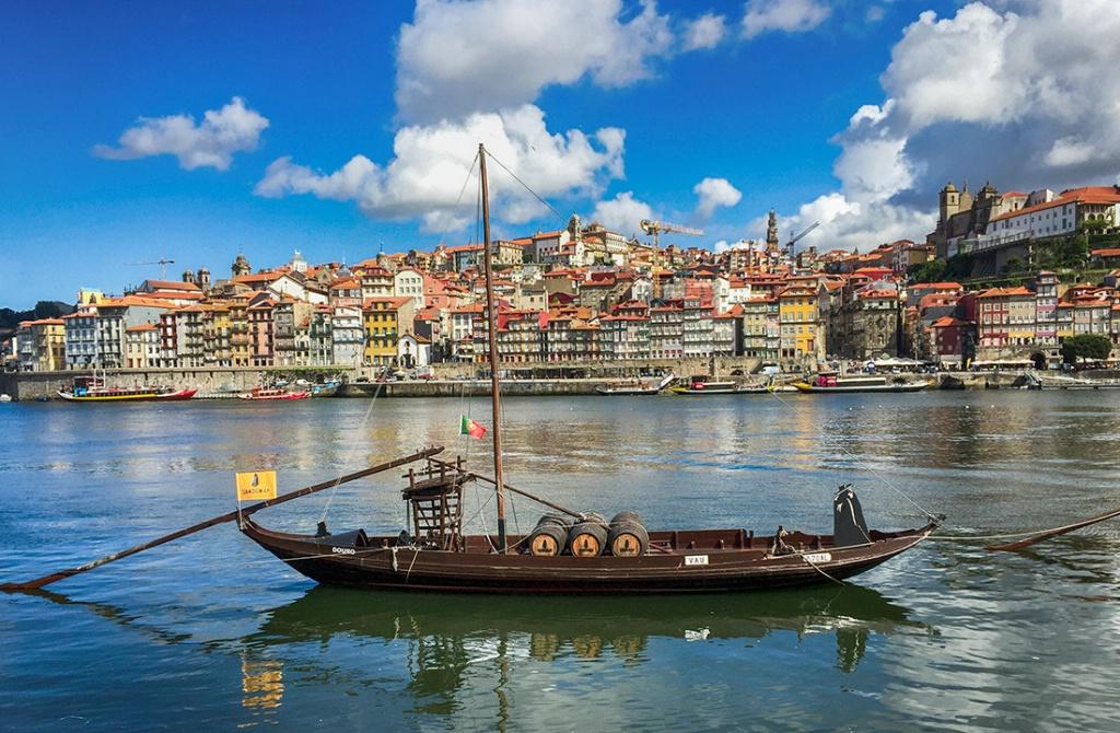View of Porto & Boat - Porto, Portugal - ID: 15369916 © Sheila Babbie