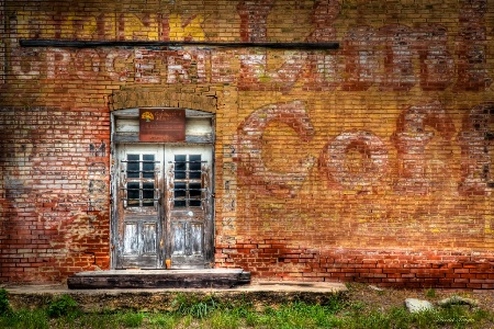 Old Central Texas Grocery Store