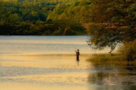 Doing Some Fishing