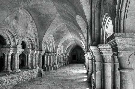 In a French Abbey