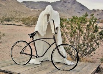 Ghost Town Biker Sahara
