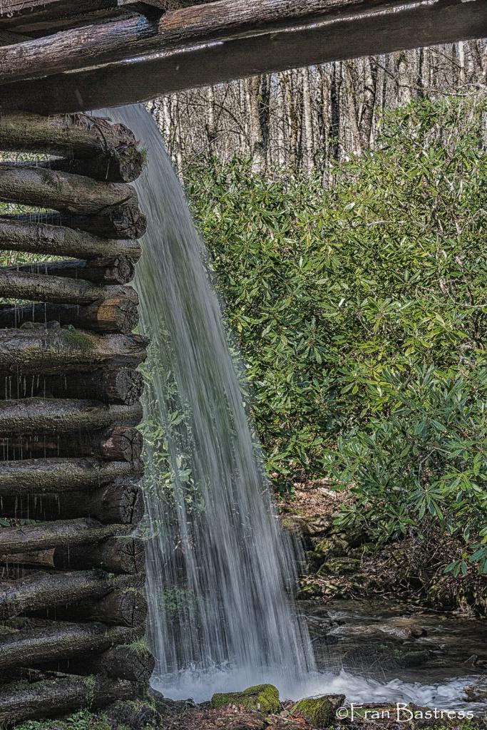 Falls at Mingus Mill - ID: 15379080 © Fran  Bastress