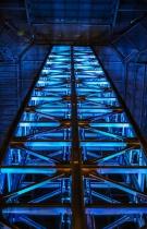 Freestanding Glass Elevator