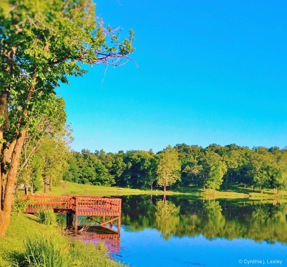 Lake at Bonne Terre Mo.