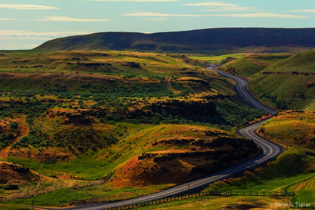The Road to Palouse Falls