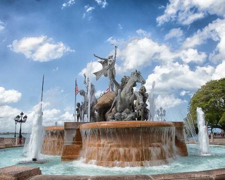 San Juan Fountain