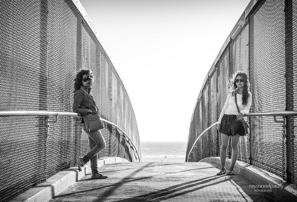 Santa Monica Walk Bridge
