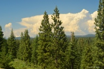 Thunderheads Over Mt. Lassen