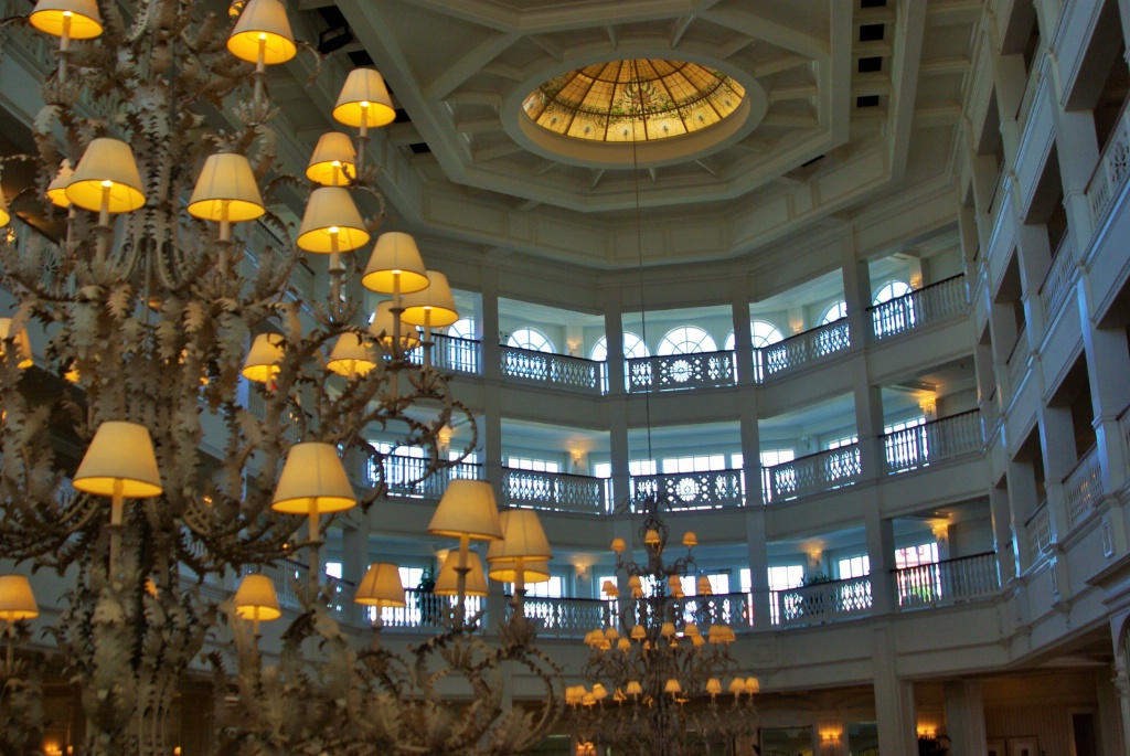 Grand Floridian Looking Up