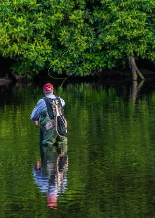 Fly Fishing On The Lehigh River