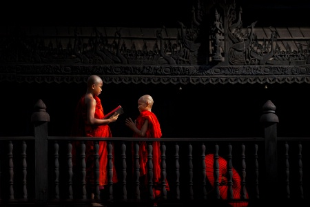 Studying for a peaceful mind in Buddhism