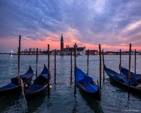 Winter's Evening in Venice