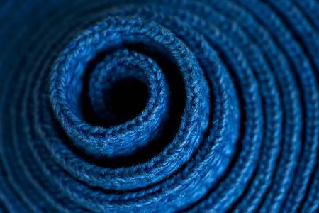 Swirl of Blue
