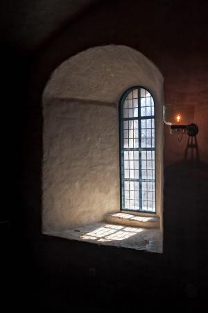 Window And Lantern At The Turku Castle