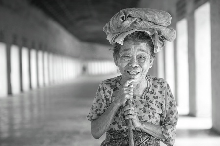 The Old Woman from Bagan