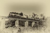Antique train 1620