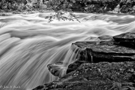 Falls Along the Creek