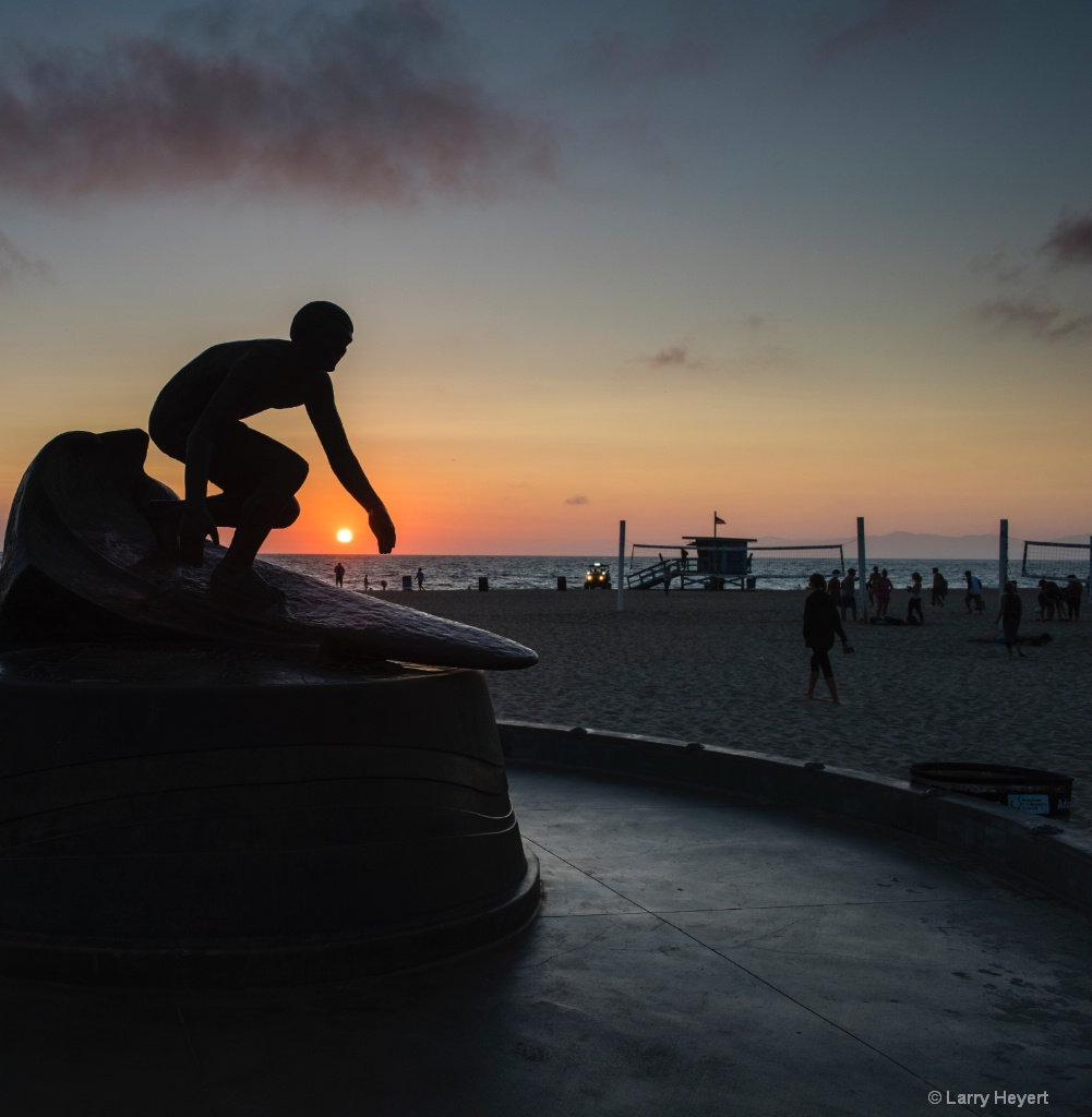 Hermosa Sunset - ID: 15445765 © Larry Heyert