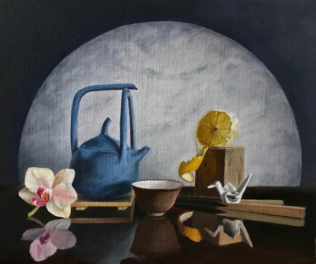 Orchid Moon Tea Ceremony - ID: 15446234 © Shirlee Cunningham
