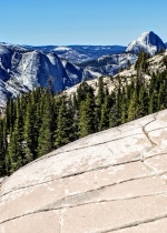 From Olmstead Point in Yosemite