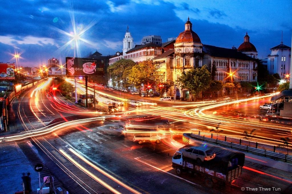 Yangon Night