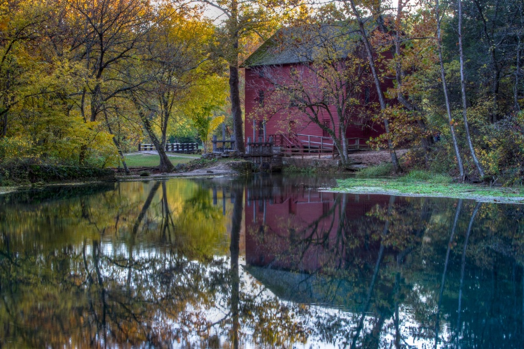 Fall Reflections - ID: 15447106 © Jim E. Anderson