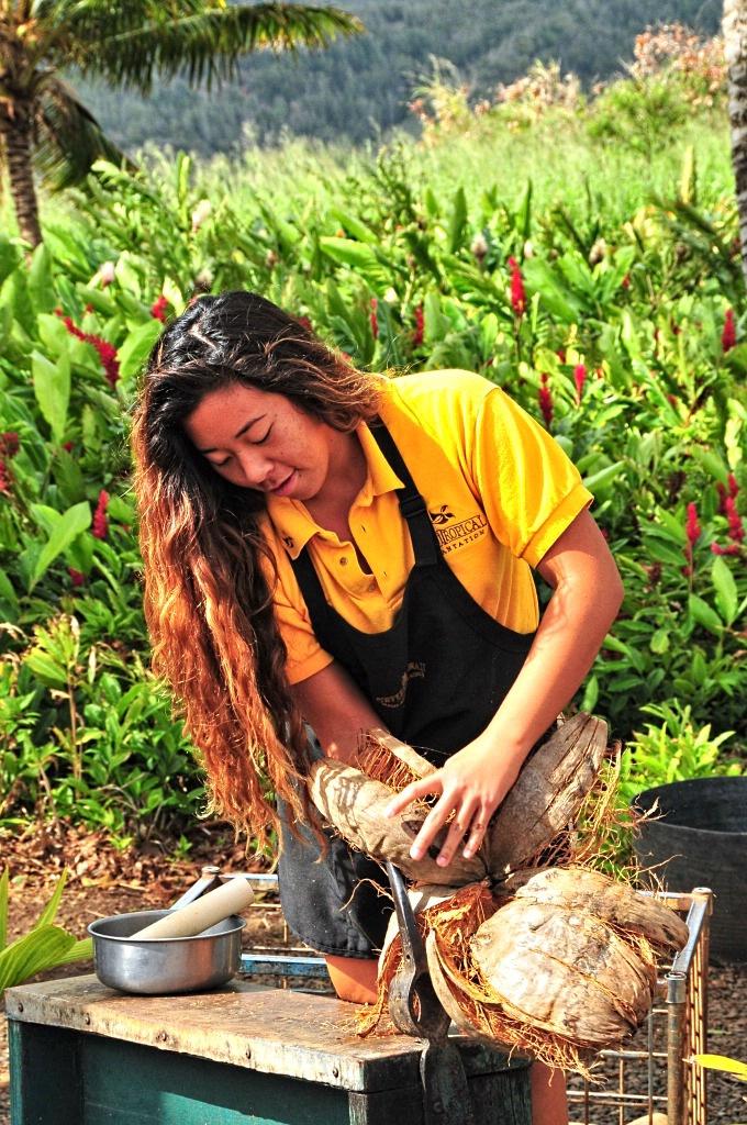 Coconut Husker