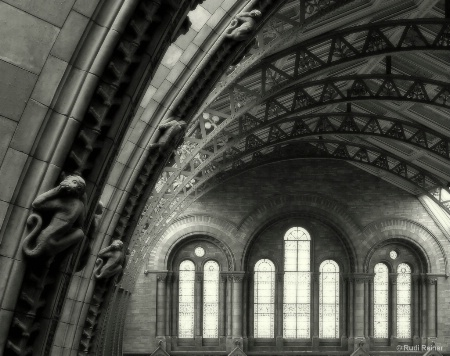 Structural arches, London