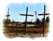 Crosses, Horse and Windmill
