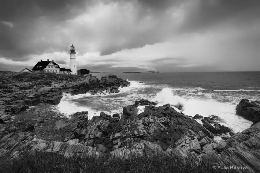 Portland Head Light, Cape Elizabeth, Maine<p> - ID: 15449372 © Yulia Basova