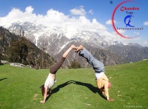 Yoga Teacher Training course in Rishikesh, India.