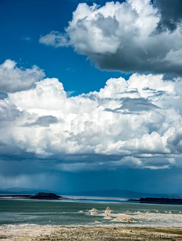 Mono Lake Cloudburst