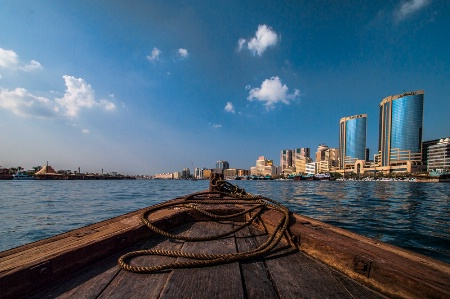 Dubai View from the River