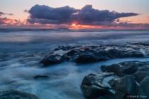 Sunset on the Wilderness Coast
