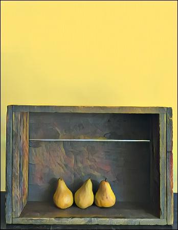 Three Yellow Pears