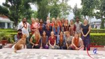Yoga teacher training course in Chandra yoga.