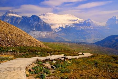 Boardwalk through the Mountains