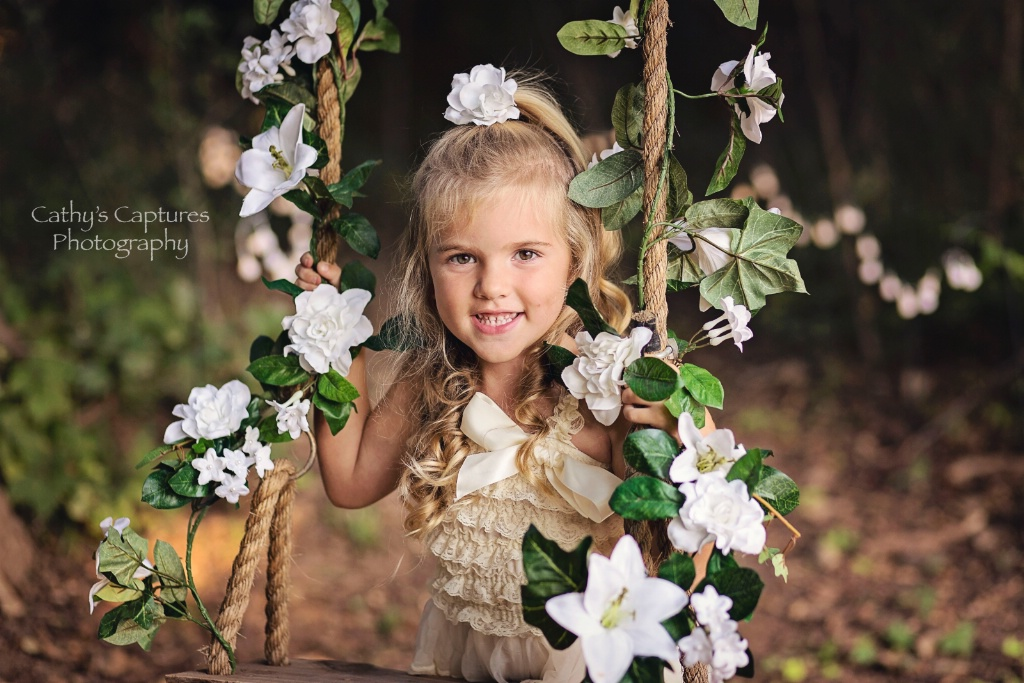 ~Flowers, Bows & Sweet Smile~