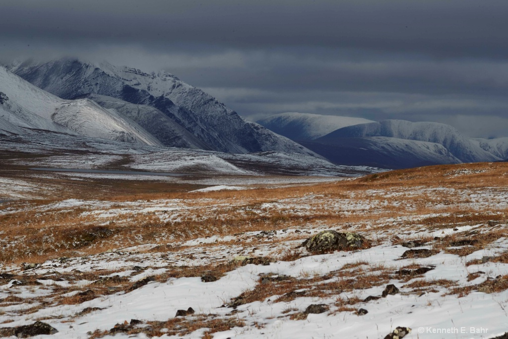 First Snow on North Slope - ID: 15460467 © Kenneth E. Bahr