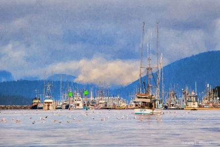 Sitka Boats- Painterly