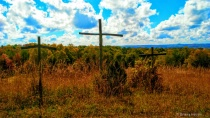 The 3 Wooden Crosses