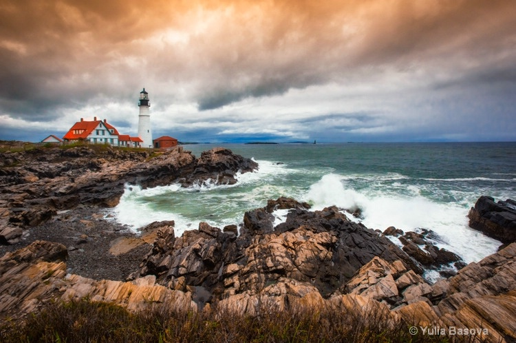 Portland Head Lighthouse, Maine<p> - ID: 15468022 © Yulia Basova