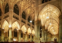 Evening at St. Patrick's Cathedral
